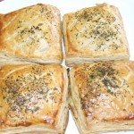 Chausson filled pastry - different flavours