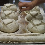 Bread making classes, scoring...