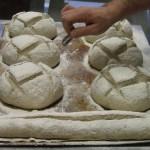 Bread making classes, scoring...